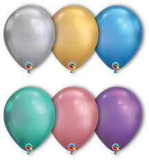 Qualatex Balloons Color Chart