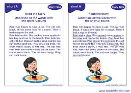 Students look at the pictures and circle the correct word. Vowel Phonics Kit Worksheets Flashcards Reading Comprehension