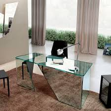 glass desk for office. Glass Desk / Contemporary For Office
