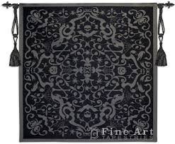 black art tapestry wall hangings