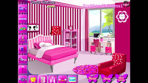 barbie doll house game decorating you bedroom. decor