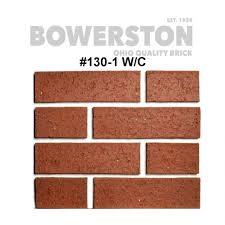 Brick Sizes Chart Brick Products The Bowerston Shale Company Ohio Brick Maker