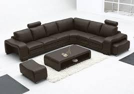 Modern minimalist L-shaped corner sofa leather sofa leather sofa leisure  sofa personality