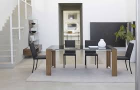 Small Glass Kitchen Table Small Black Dining Table Modern Black Glass Dining Table Combine