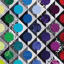 821 best Rainbow quilts images on Pinterest   Blankets, Eyes and ... & Bright Colored Quilt Bedding Bright Colored Quilt Patterns Black And White  Nancy Mahoney Circle Quilts Bright Colored Baby Quilts - co-nnect. Adamdwight.com