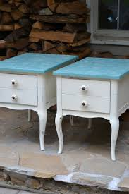 painted furniture ideas tables. Painted End Table Ideas Furniture Beautiful For Bedroom And Living Room Decoration Using Light Blue White Tables