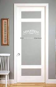 double door pantry pantry door size half frosted glass door frosted glass interior door pantry doors