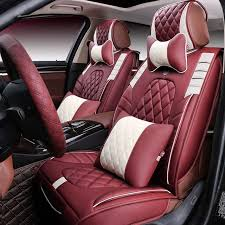 3d styling car seat cover for toyota camry corolla rav4 civic highlander land cruiser 200 prado