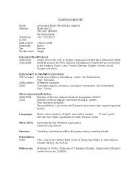 Activity Resume Templates Student Activity Resume Template Sample Great Resume Extracurricular