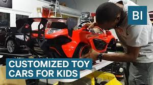 This Shop Customizes Toy Cars So Your Kids Can Ride In Style ...