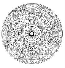 Mandala A Colorier Adulte Difficile 20 Mandalas Difficiles Pour