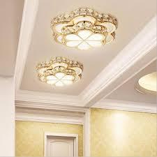 fashion flower shaped high power re led chandelier light gold k9 crystal ceiling hanging