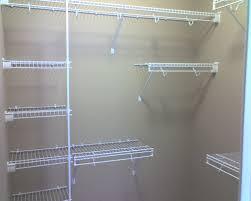 Wire Closet Shelving Ideas WALLOWAOREGONCOM How to Install A