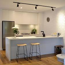 excellent kitchen bench lighting. contemporary bench this incredibly sleek and stylish kitchen design by has been finished to a  very high level of quality featuring square set cornices waterfall stone bench  to excellent kitchen bench lighting i