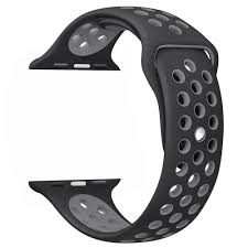 apple nike watch series 2. amazon.com: ouluoqi apple watch band 42mm, soft silicone replacement for series 3, 2, 1, sport , edition, nike 2
