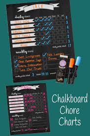 Magnetic Chalkboard Chore Chart Magnet Chalkboard Chore Charts With A Reward Point Area