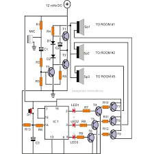 how to make your own home intercom system home intercome system circuit diagram