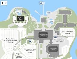 disney s contemporary resort map