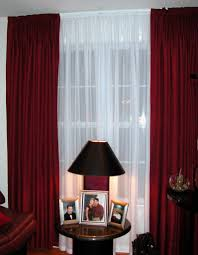 White Curtains For Living Room Living Room Awesome Living Room Decoration With Red And Sheer