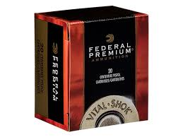 federal premium vital shok ammunition 357 magnum 180 grain swift a frame jacketed hollow