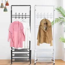 Inroom Designs Coat Hanger And Shoe Rack Hat and Coat Stand eBay 47