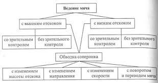Реферат Баскетбол ru Широко используется также способ обводки соперника с переводом мяча с одной руки на другую скрытно за спиной или под ногой рис 12