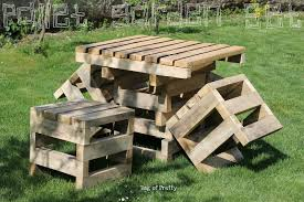 pallet outside furniture. Image Of: Outdoor Furniture Made Out Of Wooden Pallets Pallet Outside