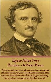 edgar allan poe eureka a prose poem books found eureka a edgar allan poe eureka a prose poem