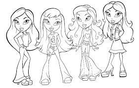 American Girl Doll Coloring Pages To Print At Getdrawingscom Free