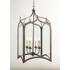 gothic lantern lighting. Chelsea House 20-0115 Roma Antique Silver Gothic Lantern Lighting