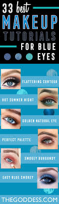 Makeup Tutorials For Blue Eyes Easy