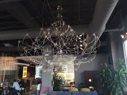 statement lighting. a larger space would be required for this lighting fixture but it is definitely statement i