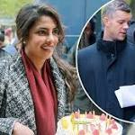 Giggling Priyanka Chopra surprises co-star Russell Tovey with a mouth-watering cake to celebrate his 36th birthday on …