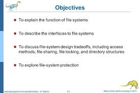 File Sharing System Design Chapter 9 File System Interface Ppt Download