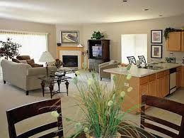 Open Kitchen Living Room Design House Decorating Ideas Open