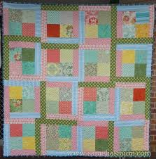 46 best charm pack quilts images on Pinterest | Charm pack quilts ... & scrappy charm square quilt from Samelia's Mum · Quilting FabricCrazy ... Adamdwight.com