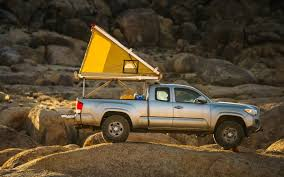 Off-Road Ready: Ultralight, Pop-Up Go-Fast Truck Campers - InsideHook