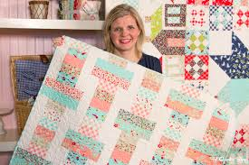 Jelly Roll Quilt Patterns Free Moda Adorable Jelly Roll Slice Free Quilt Pattern With Fat Quarter Shop The