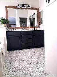 how to paint bathroom tile floors tips for painting bathroom tile with floor stencils painting bathroom
