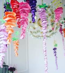 Flower Templates For Paper Flowers Wisteria Paper Flowers Hanging Wedding Flowers Svg Paper