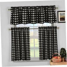 attachment image alt black and white kitchen curtains