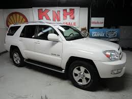 2004 TOYOTA 4RUNNER LIMITED for sale at KNH Auto Sales   Akron, Ohio
