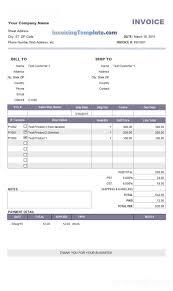Plumbing Invoice Remarkable Invoices Examples Tecnicidellaprevenzione
