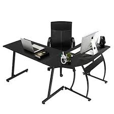 Home office computer desk Cool Home Office Pc Table 3piece Black Eggree Eggree Home Office Pc Table 3piece Black Eggree