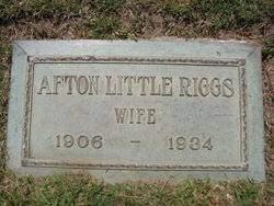 Afton Letitia Little Riggs (1906-1934) - Find A Grave Memorial