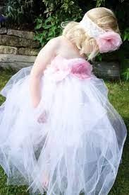 very cute diy tutu flower girl dress