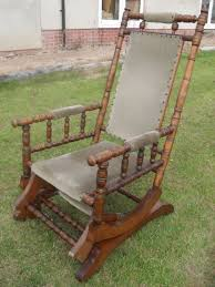 american platform rocker with padded back arms and seat not the most