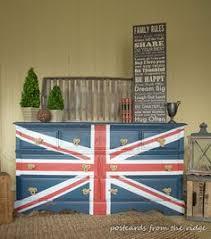 painted furniture union jack autumn vignette. Painted Furniture Union Jack Autumn Vignette R