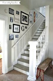 phenomenal stairway wall decor idea stairwell design best decorating on getting staircase decorate tall