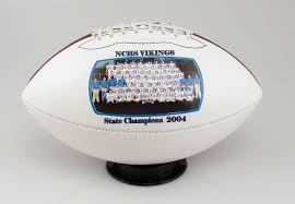 full size photo football trophy